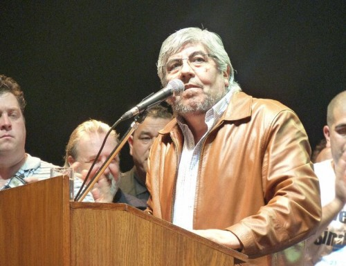 Moyano acompañó la normalización de la CGT Regional de Morón