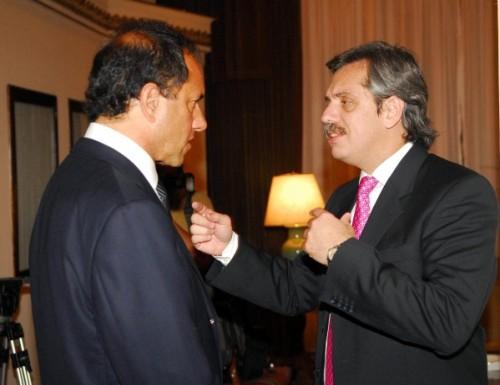 Alberto Fernández arma para Scioli 2011