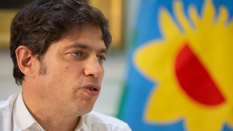 """Axel Kicillof: """"Nos tocó una situación inédita y dramática"""""""