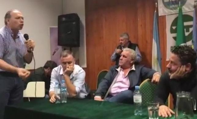 "Berni acuso a Menéndez de ser ""fucional a Vidal"""
