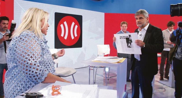 Carrió y Filmus animaron debate de candidatos porteños en la TV