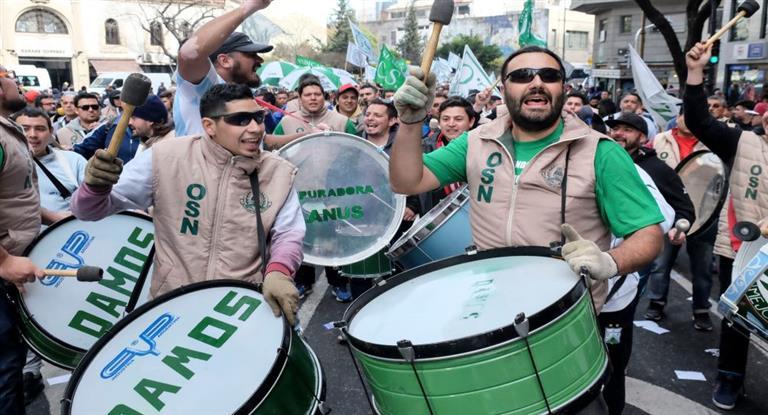 Sin los gordos, la CGT se suma a la marcha de Moyano
