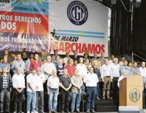 Se recalienta la previa del paro: la CGT cruzó a Macri y pidió que denuncie quiénes son las