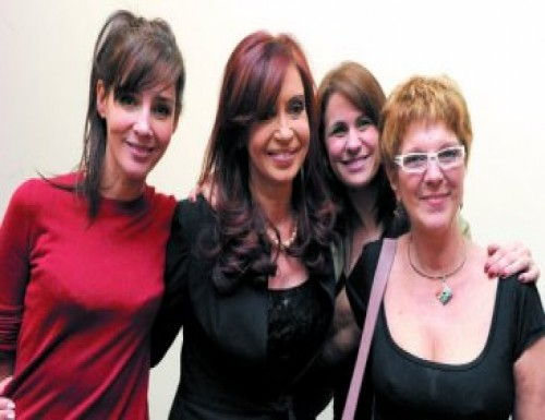 Cristina  reivindico la lucha de loa actores en la nueva sede de la SAGAI