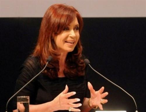 """""""Ya veremos"""", dijo Cristina Fernández al referirse a su reelección"""""""