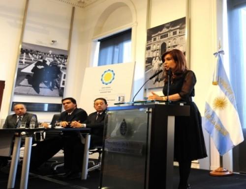 Cristina arremetió contra los formadores de Precios