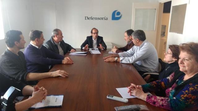 Instituciones platenses llevaron su preocupación por las tarifas a la Defensoría