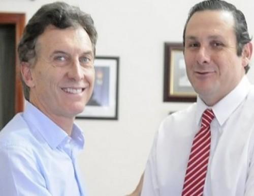 Macri visitó intendentes de la UCR