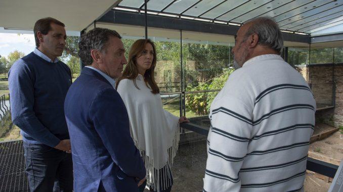 """Vidal y Garro visitaron el  """"Destacamento de Arana"""""""