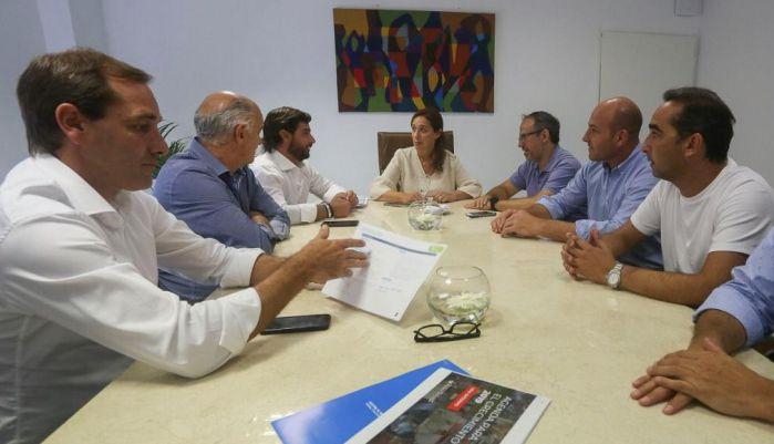 Garro expuso la ejecución del Fondo Educativo en La Plata