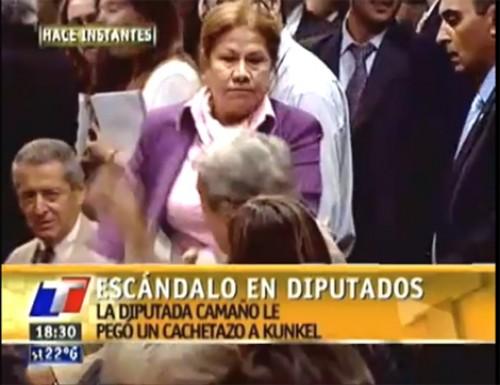 Slogan de Camaño: