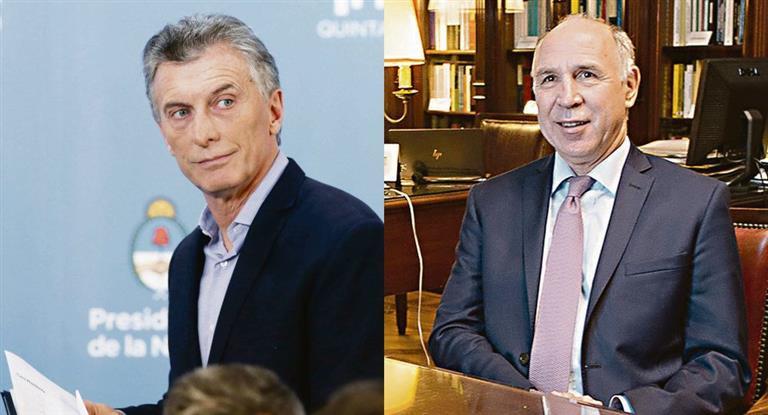 Cumbre Macri-Lorenzetti por casos judiciales del sistema previsional