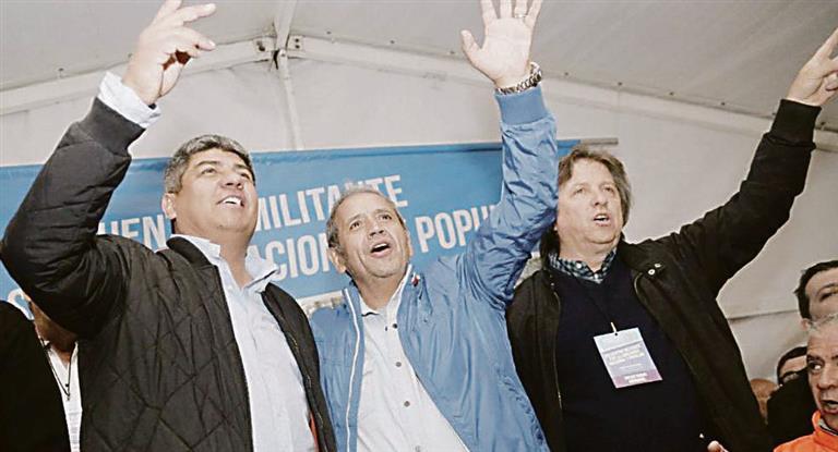 Pablo Moyano apuntó contra Macri: