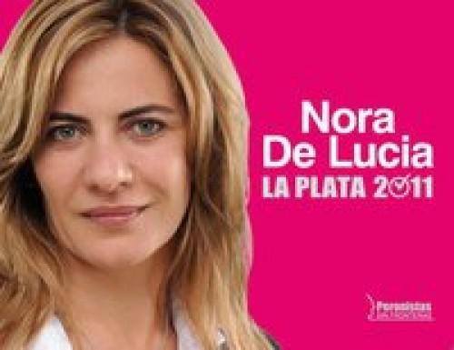 De Lucia dio se largo como candidata a  intendente Platense