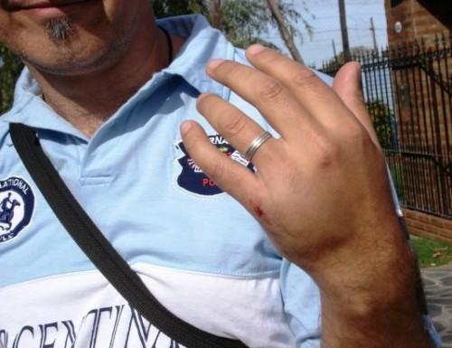 Militantes denuncian violencia política de los Bruera