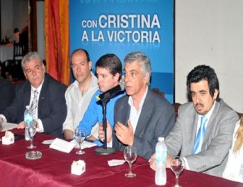La Plata respalda la candidatura de Cristina en el 2011