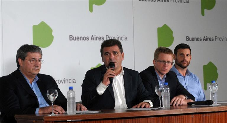 Ritondo anunció nuevas medidas de seguridad en los colectivos