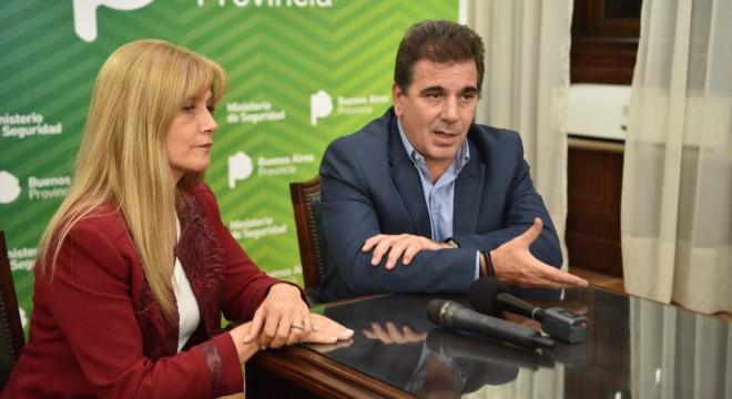 Ritondo y Magario limaron diferencias por la seguridad en La Matanza