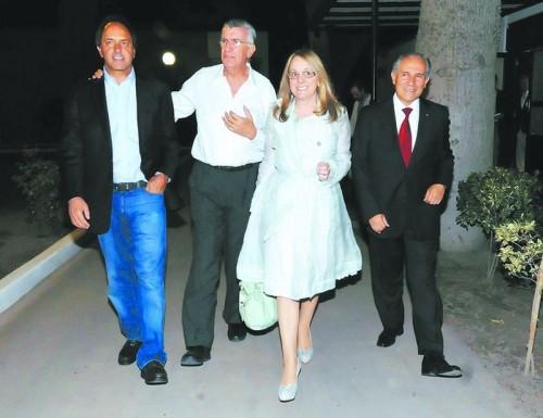 Scioli se muestra con Gioja y lanza el Foro Obrero Empresario
