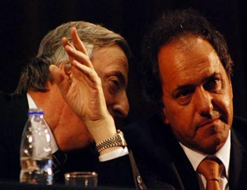 Scioli prometió ser leal a Cristina ante Kirchner