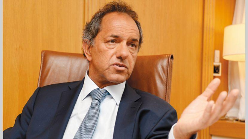 Scioli declara ante el Fiscal Garganta